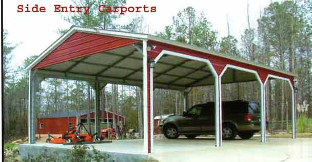 Texas Steel Carports - Wood Carports Photos